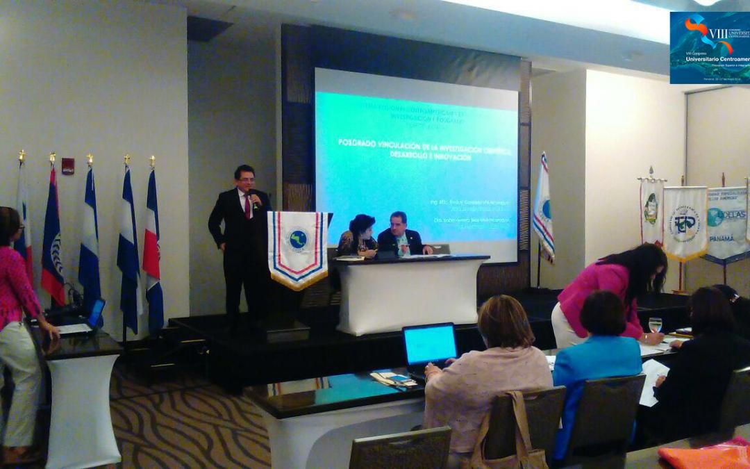 VIII Congreso Universitario Centroamericano. Ciudad de Panamá