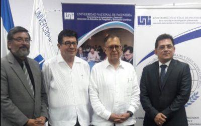 Inicio de Seminario Taller Calidad del Posgrado en  UNI