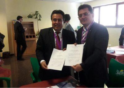 Firma de Carta de Intencion