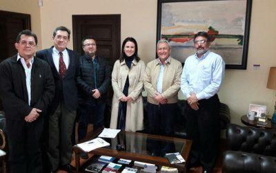 Reunión con Director General AUIP por la mejora continua de UNI-Posgrado.