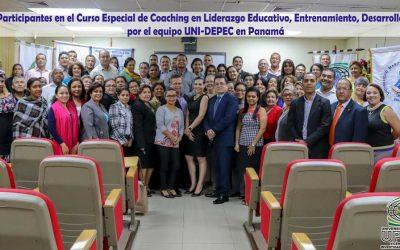 Docentes de UNI-Dirección de  Estudios de Posgrado Imparte Curso Especial de Coaching en Liderazgo Educativo