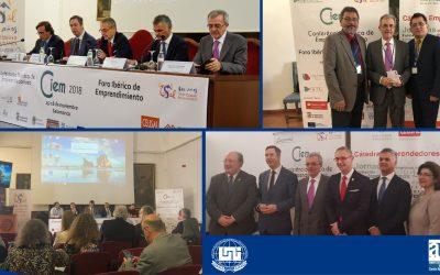 La Dirección de Estudios de posgrado y Educación Continúa UNI se encuentra participando en la 8ª Conferencia Ibérica de Emprendimiento (CIEM)  y Foro Ibérico de Emprendimiento