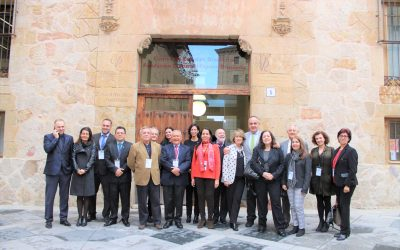 Reunión Anual 2018 de los Directores Regionales AUIP celebrada en la Universidad de Salamanca en conmemoración del VIII centenario de su fundación