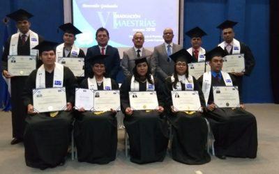 VI Graduación de Maestrías Diciembre 2018